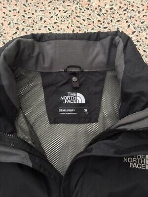 THE NORTH FACE - Hyvent - Black - Two Pocket - Zip Up - Hooded - Jacket - XL