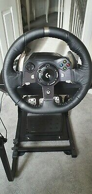 Logitech G920 Steering Wheel for Xbox and PC & GT Omega Stand