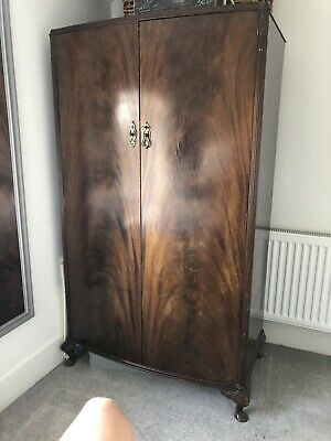 antique wooden wardrobe used