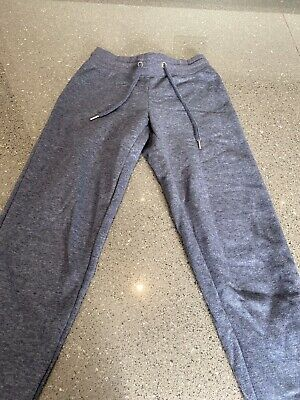Girls Primark Blue/Grey Jogging Bottoms, Size XS Good Condition