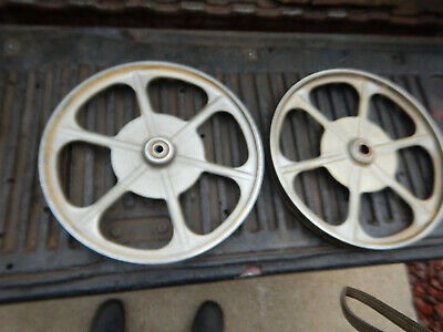 "Delta Rockwell Milwaukee 14"" Band Saw Wheels Top And Bottom"