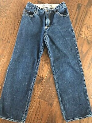 Gap Boys 14 Regular Loose Fit Denim Jeans