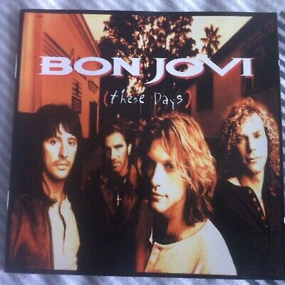 BON JOVI - THESE DAYS - CD ALBUM - this aint a love song something for the pain