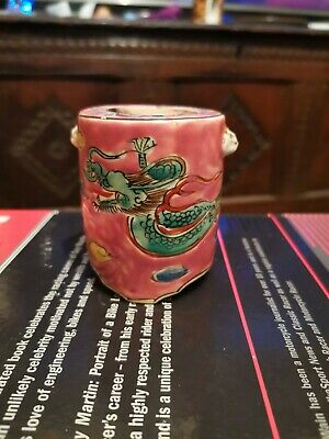 Antique Chinese Ink Pot, Lining Is Missing