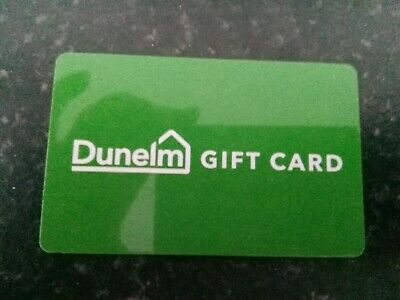 Dunelm Gift Card £50 - Unused