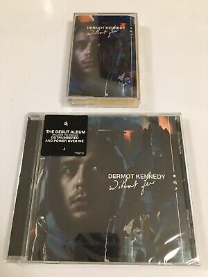 Dermot Kennedy Without Fear New Sealed CD Album & Yelllow Cassette (Outnumbered)
