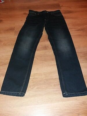 Next Jeans Dark Blue Faded Look Size Age 11