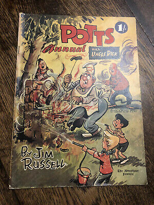 Vintage POTTS Annual With Uncle Dick