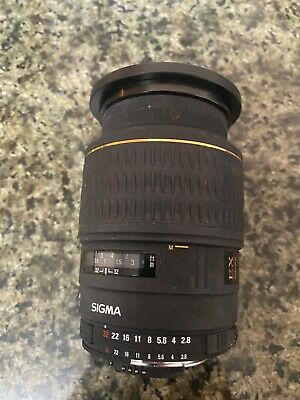 Sigma 258306 EX DG OS HSM 105mm f/2.8 Macro Lens for Nikon F - Black
