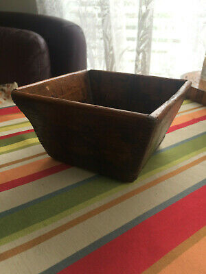 Primitive old Chinese rice box