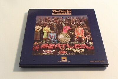 The Beatles / Sgt Peppers Lonely Hearts Club Band  / HMV CD Box Set / BEA CD25/3
