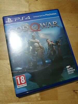 Jeu PS4 God of war