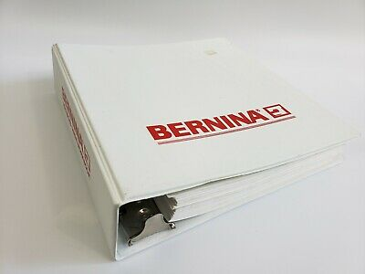 Bernina Sewing Advance Guide Workbook Instruction 3 Ring Binder & Contents 1989