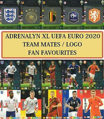 Panini Adrenalyn XL UEFA Euro 2020 -Team Mates cards #10 - #243 BUY 3 GET 7 FREE