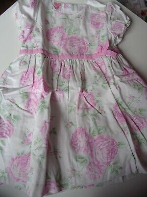 Baby GAP Girls Summer lined dress size age 18 24 months 2 years short sleeve