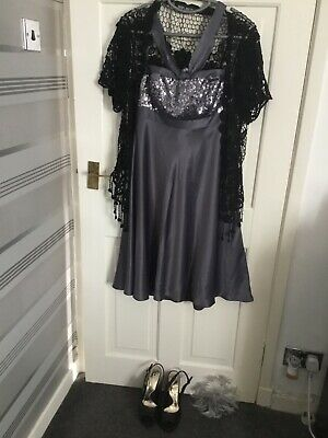 Ladies Debut Mother Bride/Races Outfit Size 10 (Sparkly Party Dress)