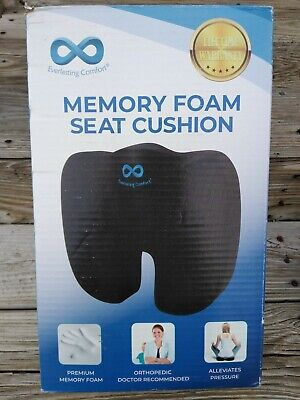 Everlasting Comfort 100% Pure Memory Foam Seat Cushion~Free Shipping!