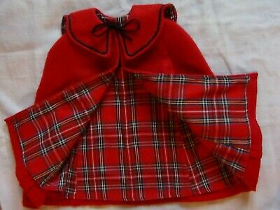 Black with Red Plaid Shoes Boy for 18 inch American Girl Doll Clothes