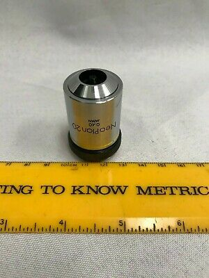Olympus NEO Plan 20x 0.40, ∞ Microscope Objective Lens, Great Condition