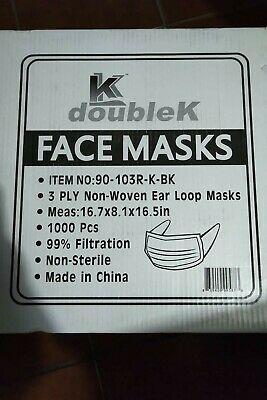 Double K Surgical Grade Earloop Mask