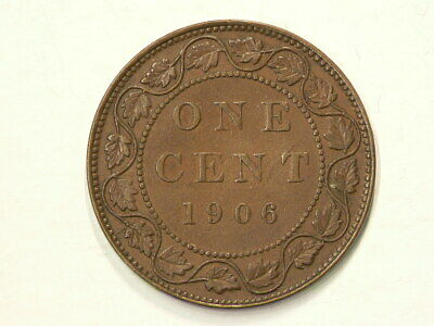 1906 Canada Large Cent Edward VII #3469