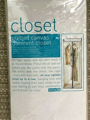 Quilted Canvas Garment Hanging Closet