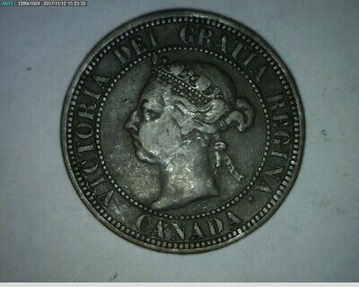 1890 Canada Large Cent-(171112-149)