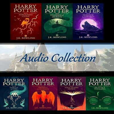 Harry Potter Series 1-7 Audio Book JK Rowling Mp3 CD Audiobook