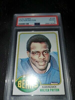 1976 Topps Football Walter Payton ROOKIE RC #148 PSA 2? Good PERFECTLY CENTERED