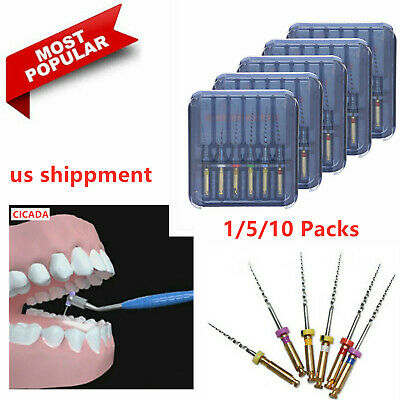 1/5/10 Pack Dental NiTi Endodontic File 25mm Root Canal Memory Rotary File 25mm