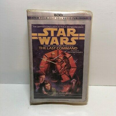 Star Wars Thrawn Trilogy - Last Command Vol 3 (Timothy Zahn 1993 Audio Cassette