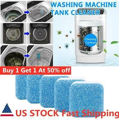 20PCS Washing Machine Cleaning Effervescent Tablets Washer Cleaner Deep Descaler