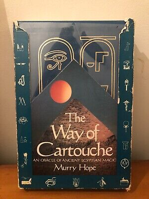 The Way Of The Cartouche Tarot Oracle 1983 Murry Hope Rare Oop First Edition