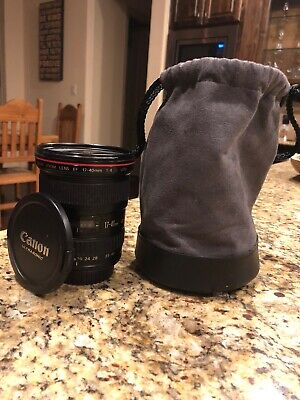 Canon EF 17-40 mm f/4L USM Wide Angle Zoom Lens (Good Condition!)