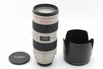 Canon EF 70-200mm F2.8 L IS  USM Zoom Lens, From Japan, Very Good  Condi, TK0978