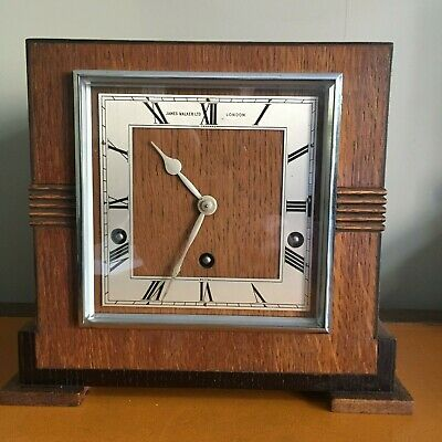 An  Art- Deco Period Garrard Westminster Chime Mantel Clock