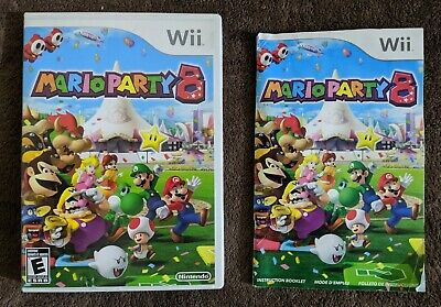 Mario Party 8 - Nintendo Wii - Case and Manual ONLY - NO GAME DISC