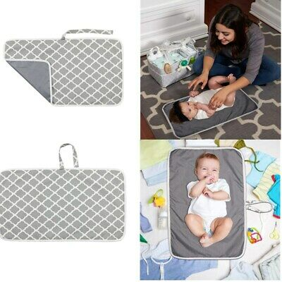Portable Baby Travel Nappy Diaper Changing Mat Pad Foldable Waterproof Washable