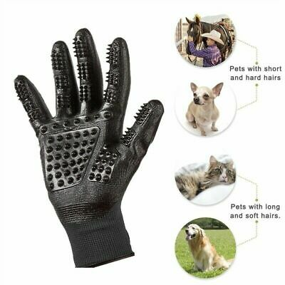 Pet Cleaner Grooming Gloves Dog Cat Horse Brush Hair Remover Shedding Massage