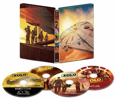 Han Solo / Star Wars Story 4K Ultra HD / 3D/Blu-Ray/Numérique Copie / Movienex