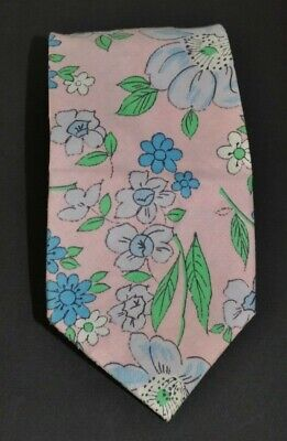 Authentic Vintage Retro 1960's 1970's Flower Power Psychedelic Neck Ties