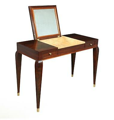 Art Deco Dressing Table in Rosewood c1920, antique, original, vintage