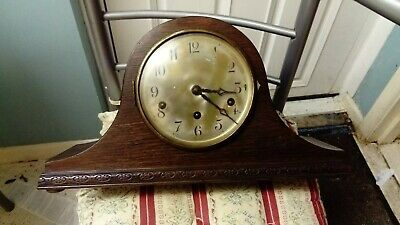 PreWW2 mantle clock with charming quarter-hour chime