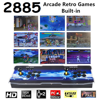 2885 Games Pandora's Box 3D+ Arcade Video Game Console Retro HDMI Double Sticks