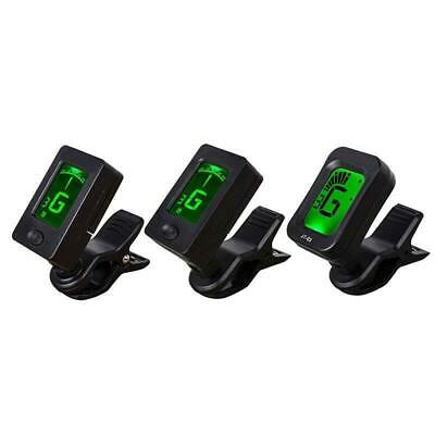 Mini Clip-on Guitar Tuner Digital LCD Tuner for Acoustic Electric Guitar Violin