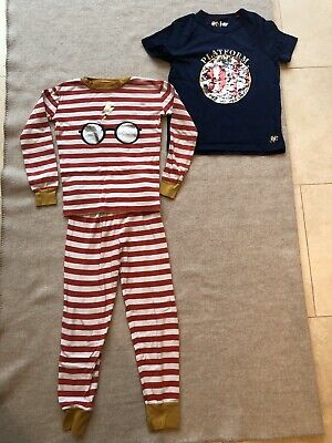 Mini Boden Harry Potter T-shirt & Pyjamas Age 8-9