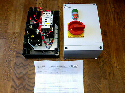Eaton 11 kW Automatic 3P DOL Starter, 400 V ac, IP65. electrical motors,switches