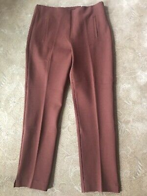 Chicos Juliet Ankle Pants Mahogany Size 1 (M-8). NEW