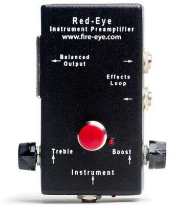 FireEye Red Eye Acoustic Electric Guitar Preamp
