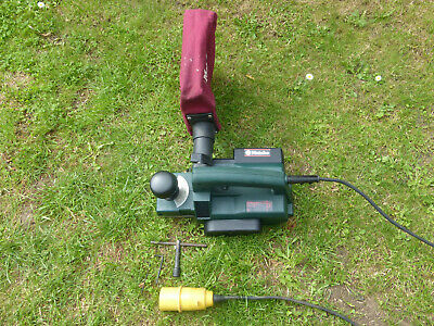 Metabo Heavy Duty Planer 110V With Dust Collection Bag.wood Timber Shed Workshop